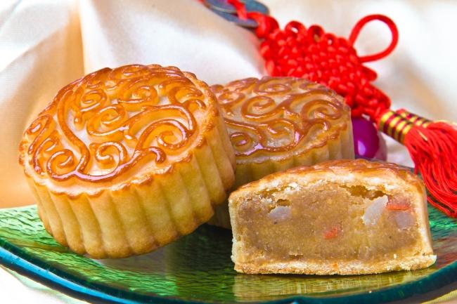 中秋节月饼图片-zol素材下载